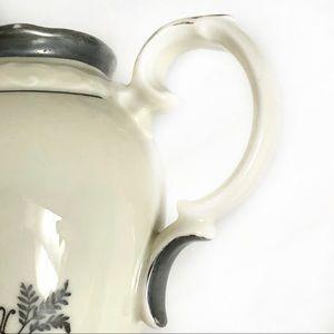 Vintage Kitchen - Bavaria Dekor Feinsilber Creamer & Sugar  Bowl